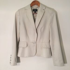 MNG Mango Brand Tan Suit Jacket